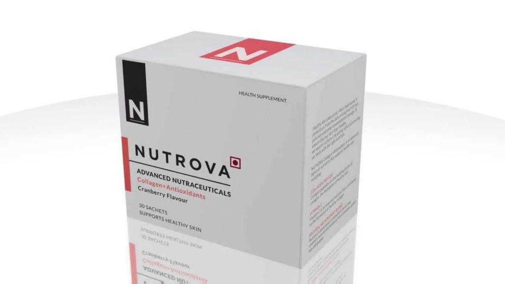 Nutrova Advanced Nutraceuticals Collagen+ Antioxidants