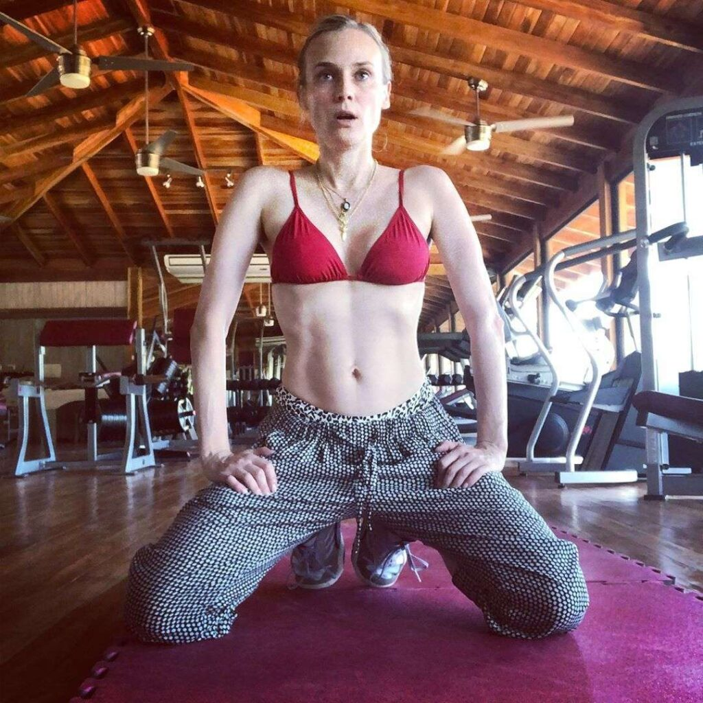 diane fitness routine