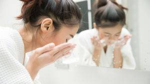 Avoid over-washing your face