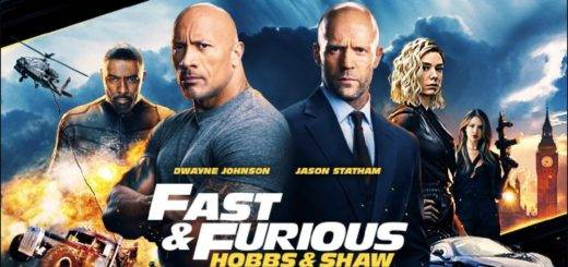Hobbs & Shaw First Look & Poster1