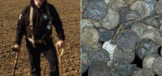 A metal detector finds 1000 years 99 old coins with worth Rs 43.43 lakh