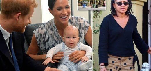 Meghan Markle & Prince Harry will celebrate thanksgiving in LA with Grandmamma Doria Ragland