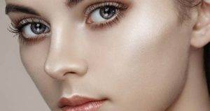 Mix foundation with a liquid highlighter