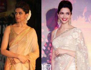 Celebrity hairstyles for saris