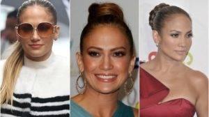 Jennifer Lopez also the big fan of high Bun