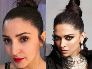 Lifting Bun is trending- Deepika Padukone to Anushka Sharma
