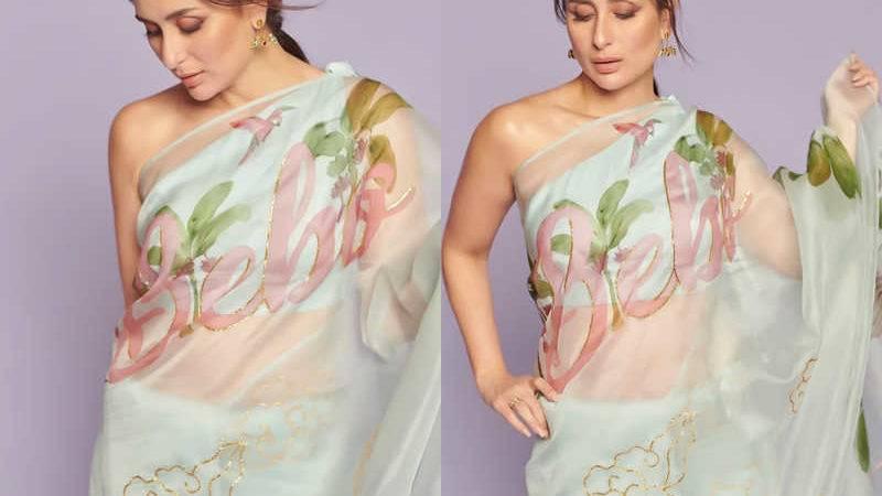 Kareena Kapoor Slays in this 'Bebo' Saree