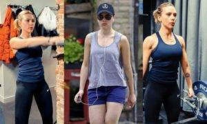 Scarlett Johansson Fitness Secret