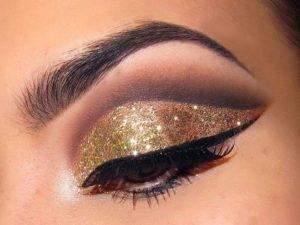 Shimmery eyes